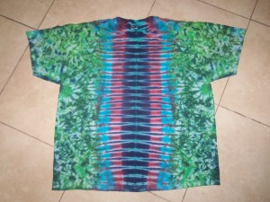 tie dye, tie-die, tie-dyed, tie dyed, shirt , green, zipper