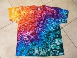 tie dye, tie-die, tie-dyed, tie dyed, shirt, marble, rainbow