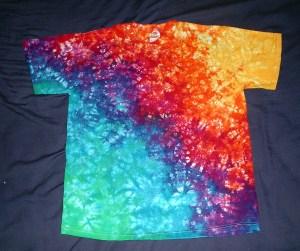 tie dye, tie-die, tie-dyed, tie dyed, shirt , rainbow, marble