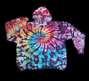 dyemasters hooded sweatshirt tie dye