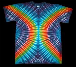 tie dye, tie-dye, tie dyed, tie-dyed, rainbow, shirt