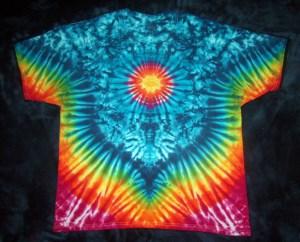 tie dye, tie-dye, tie dyed, tie-dyed, rainbow, vee, marble, shirt
