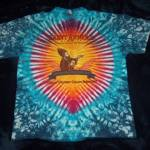 St Arnold Dyemasters Texas tie dye shirt