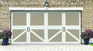 2 Tone Steel Carriage Door