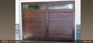 RHD wood Garage Door 250
