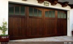 RHD wood Garage Door New 11