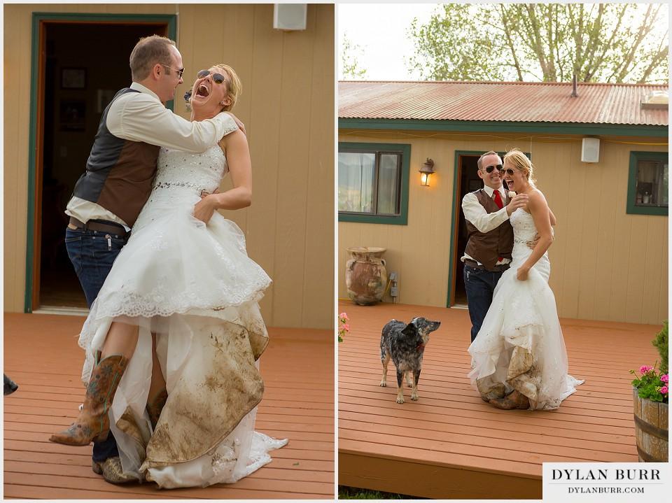 Outdoor Rustic Montrose Colorado Wedding Colorado