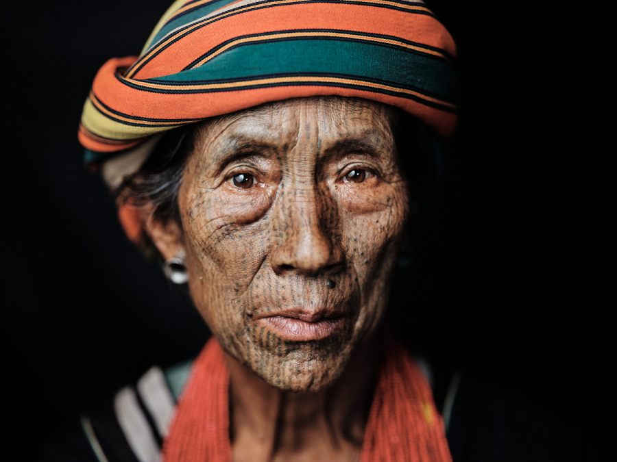 Yindu Tattoo - Chin State, Myanmar