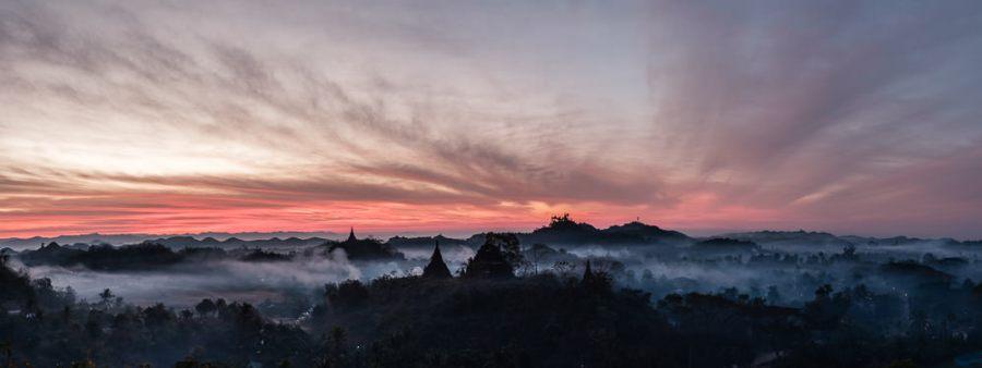 Mrauk U Sunrise