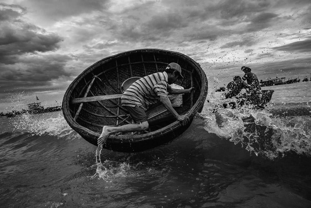 Fishing Village in Vietnam