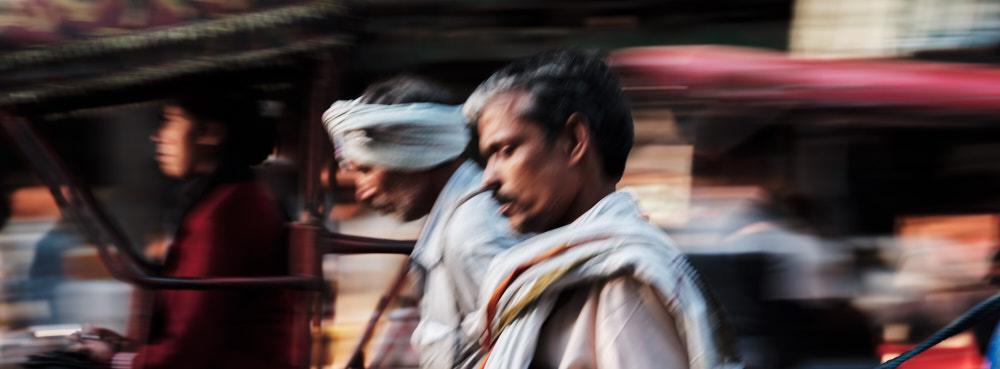 Chandni Chowk Chaos, Old Delhi