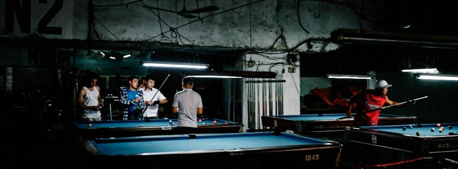 Hanoi, Vietnam - Billards