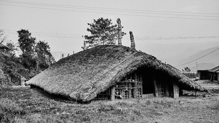 A wancho longhouse