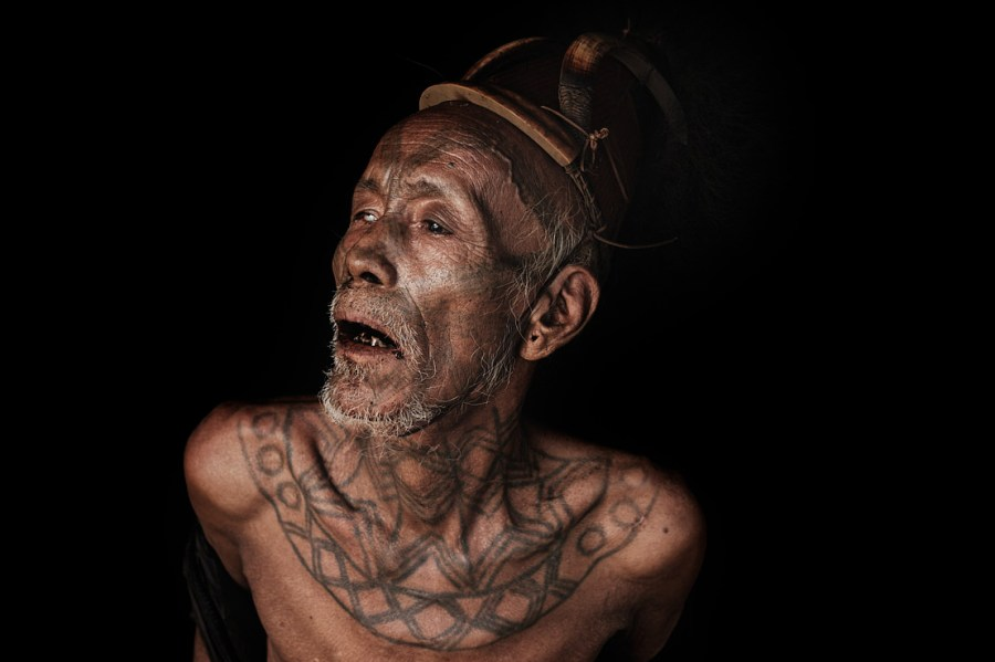 Sahnai Wangsa - Wancho Headhunter Facial Tattoo