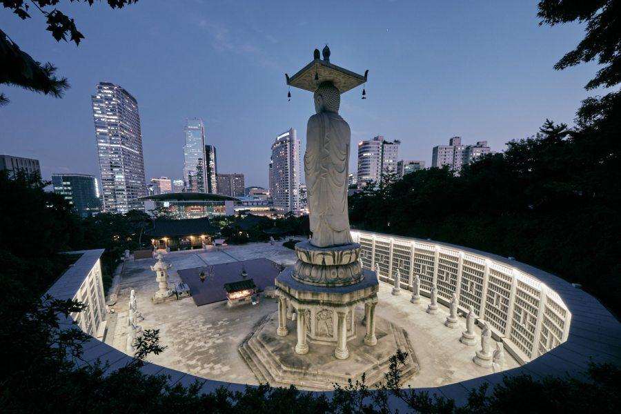 Amitaba Buddha - Bongeunsa - Seoul