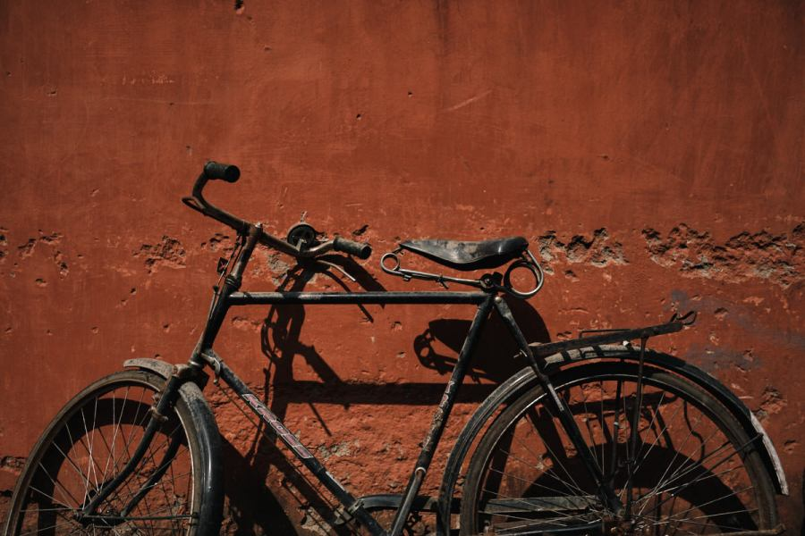 Bicycle and Red