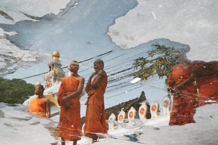 Novice Monks, Luang Prabang, Laos
