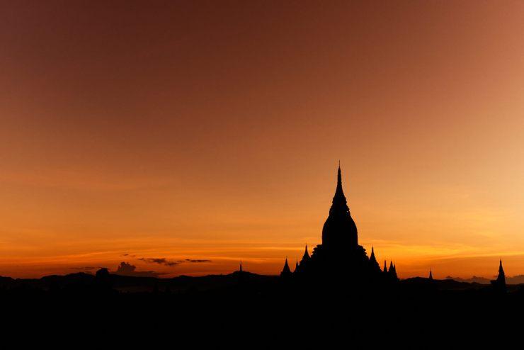 Bagan Sunrsie, Myanmar