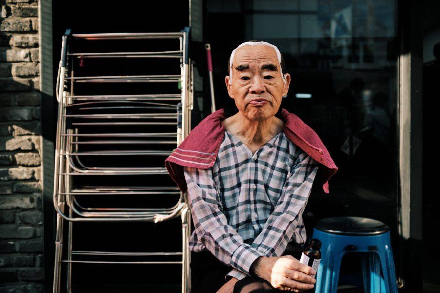 Seoul Street Photography - Hair Dye