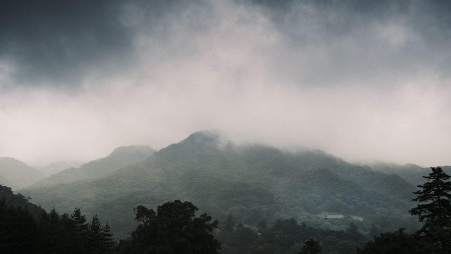 Gayasan National Park Cloudy
