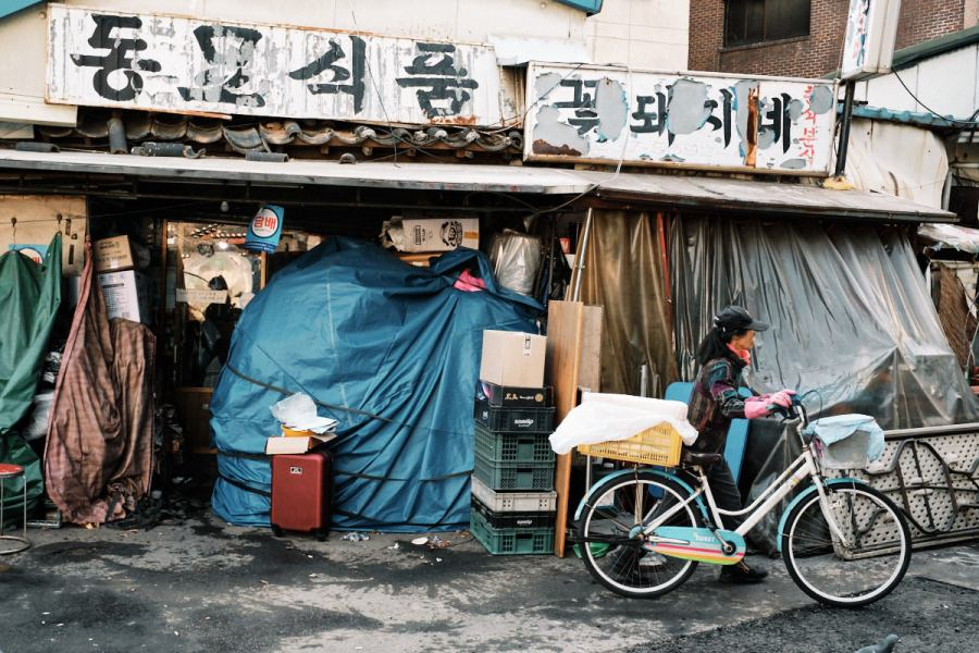 Morning Market at Dongmyo