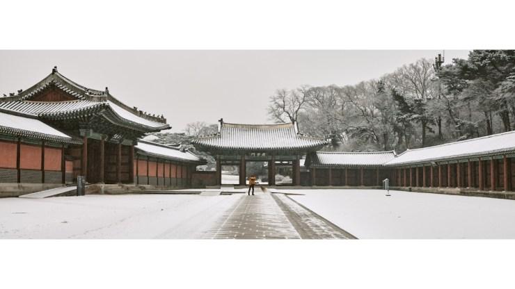 Snowy Panorama of Changdeokgung