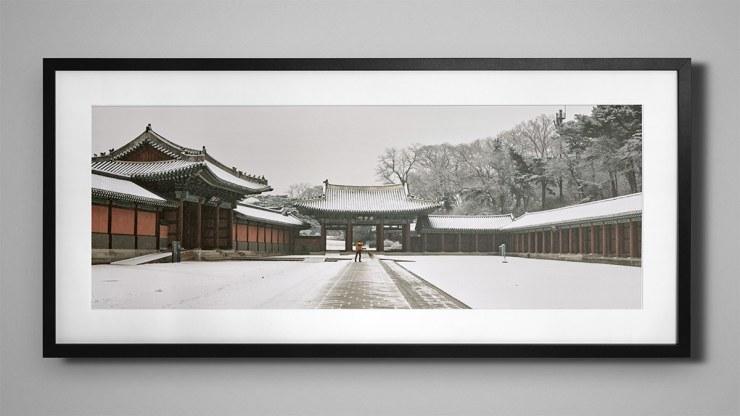 Snowy Panorama of Changdeokgung - Mock