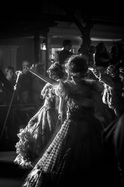Haunted Mansion Ballroom Dancers
