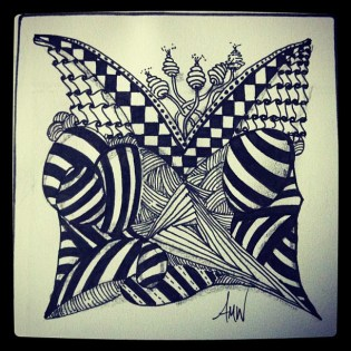 One Zentangle a Day - Day 24