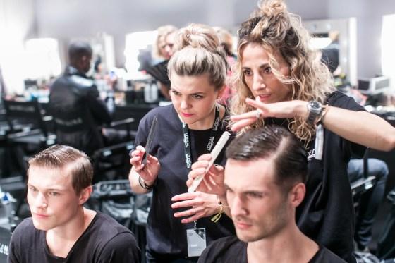 Backstage Fashionweek dylus Frankfurt