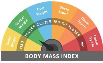 体重指数(BMI)计算器