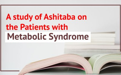A Study of Ashitaba on the Patients with Metabolic Syndrome
