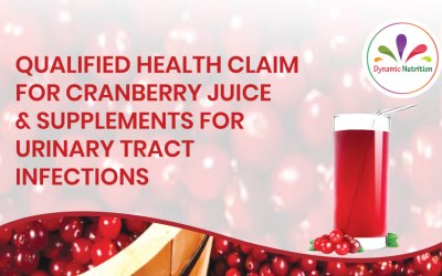 Qualified Health Claim for Cranberry Juice and Supplements for Urinary Tract Infections