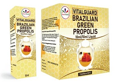 VitalGuard Brazillian Green Propolis Liquid