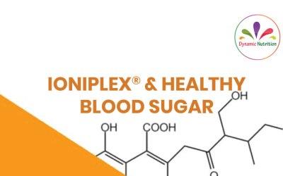 Ioniplex® & Healthy Blood Sugar