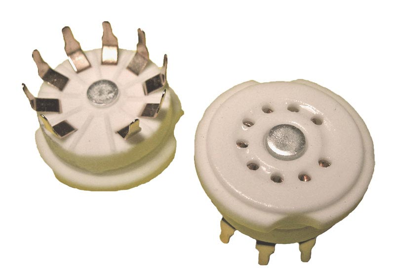 9 Pin Ceramic Socket