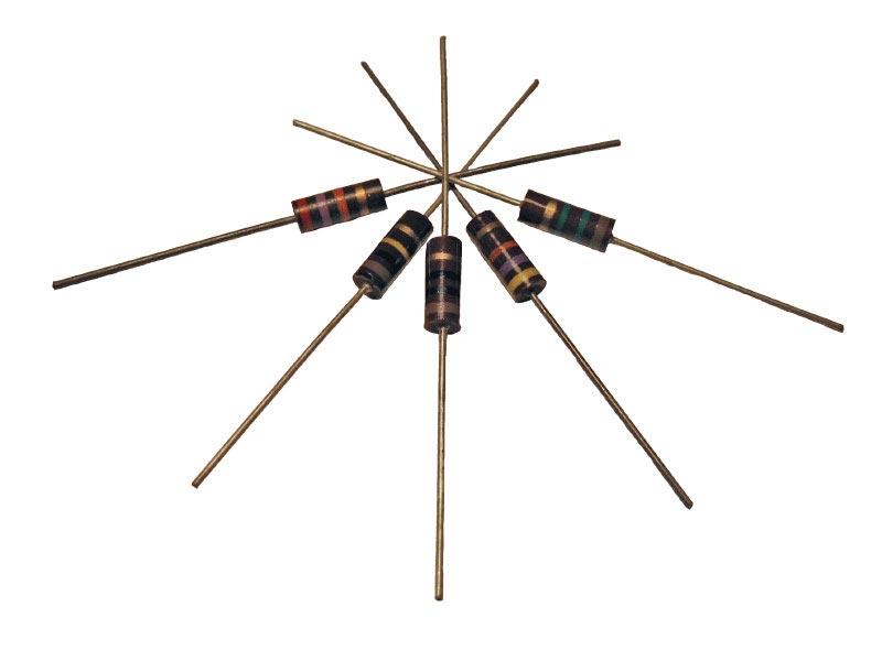 Carbon Comp Resistors 1/2