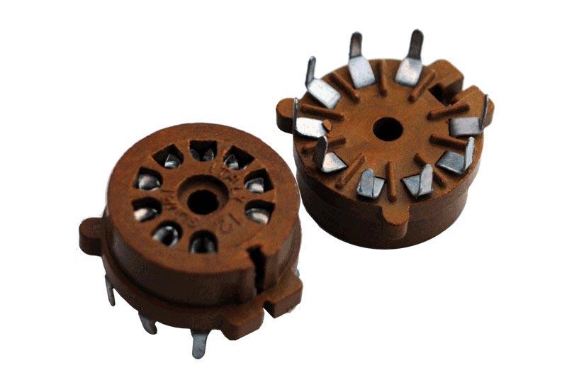 9 Pin Micanol Socket