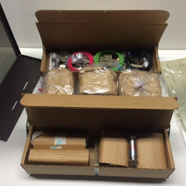 SCA-35 kit open box view