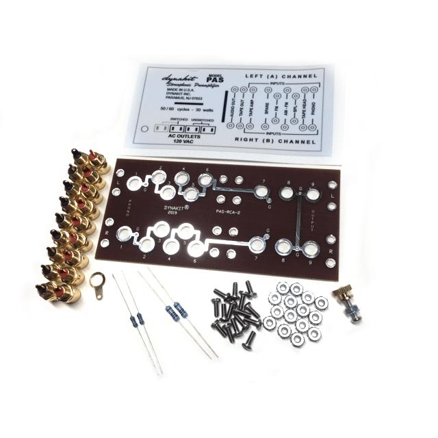 PAS Full Function RCA Jack Kit
