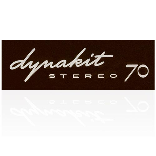 DYNAKIT ST-70 LABEL