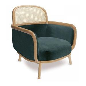 luc lounge chair, cane furniture, hotel furniture, restaurant furniture