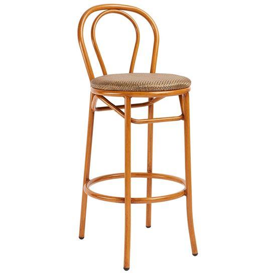 barstool, outdoor barstool, outdoor furniture, restaurant furniture, hotel furniture