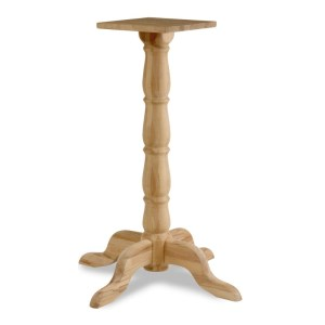 bark high table base, table bases, restaurant furniture, hotel furniture