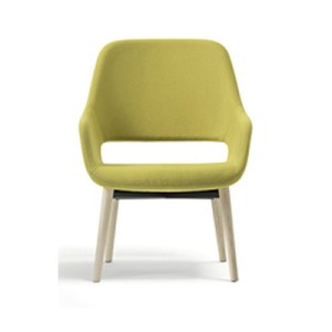 Babila 2759 lounge chair, pedrali, pedrali furniture, contract furniture