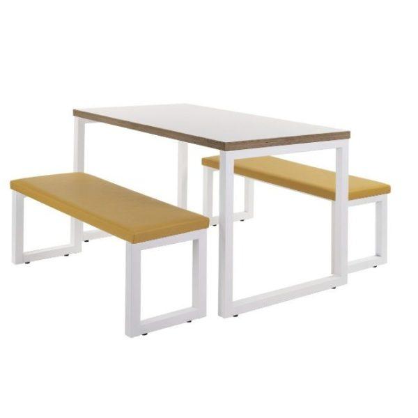 beem upholstered bench, bar furniture, restaurant furniture, hotel furniture, workplace furniture, contract furniture