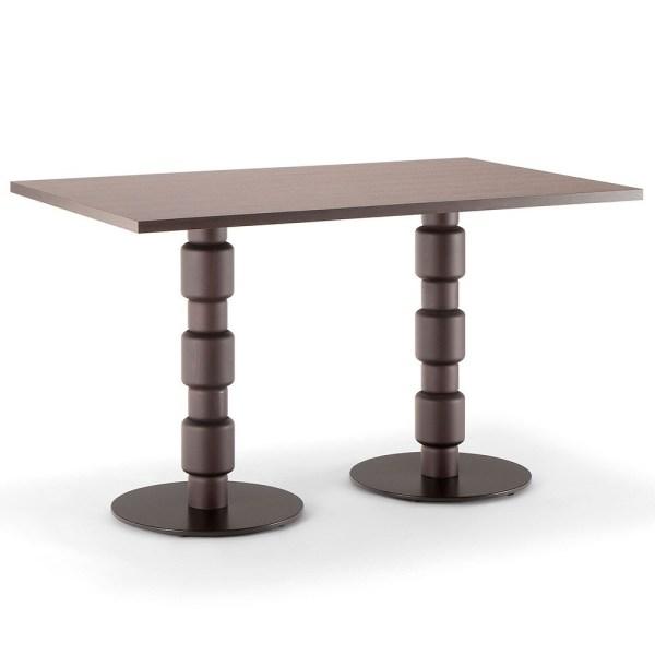 berlino twin dining table, bar furniture, restaurant furniture, hotel furniture, workplace furniture, contract furniture, office furniture, outdoor furniture