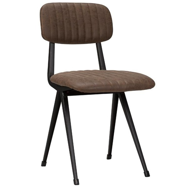 nona industrial side chair for restaurants and bars