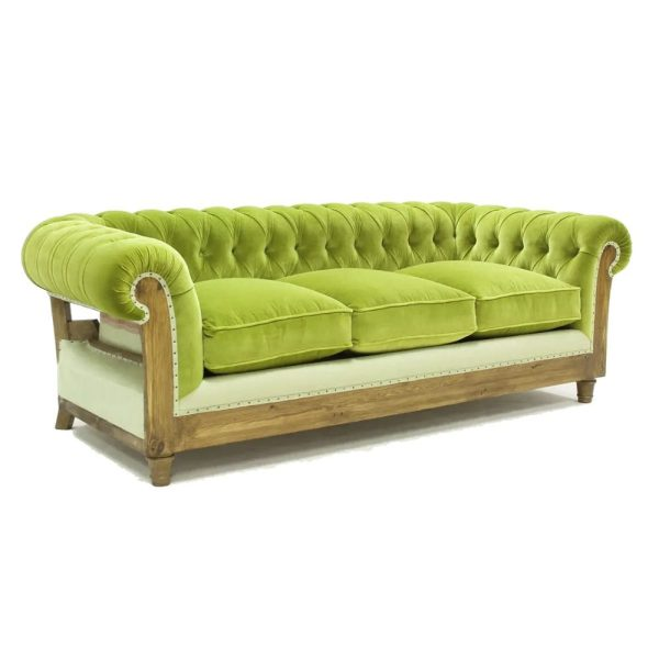 Hotel or bedroom deconstructed chesterfield