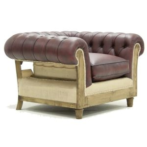 deconstructed chesterfield lounge chair, bar furniture, restaurant furniture, hotel furniture, workplace furniture, contract furniture, office furniture, outdoor furniture